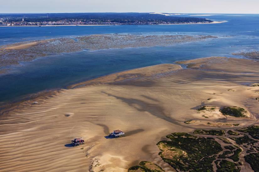 Photo Bassin d'Arcachon : Bassin d'Arcachon - Vu d'en haut #19