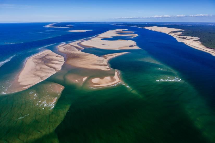 Photo Bassin d'Arcachon : Bassin d'Arcachon - Vu d'en haut #20
