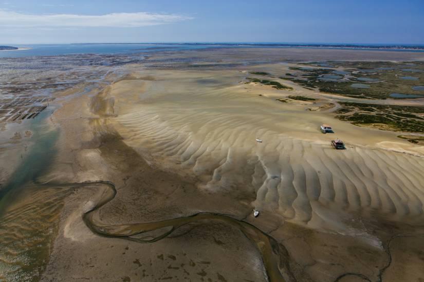 Photo Bassin d'Arcachon : Bassin d'Arcachon - Vu d'en haut #26