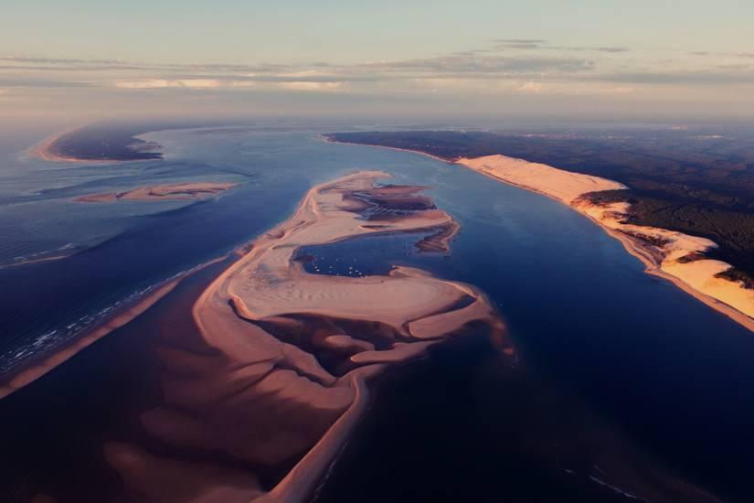 Photo Bassin d'Arcachon : Bassin d'Arcachon - Vu d'en haut #43