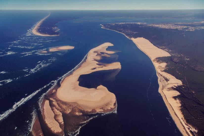 Photo Bassin d'Arcachon : Bassin d'Arcachon - Vu d'en haut #44