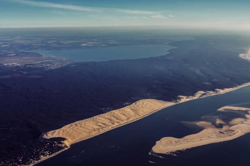 Photo Bassin d'Arcachon : Bassin d'Arcachon - Vu d'en haut #45