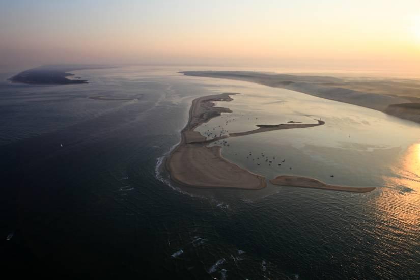 Photo Bassin d'Arcachon : Bassin d'Arcachon - Vu d'en haut #49