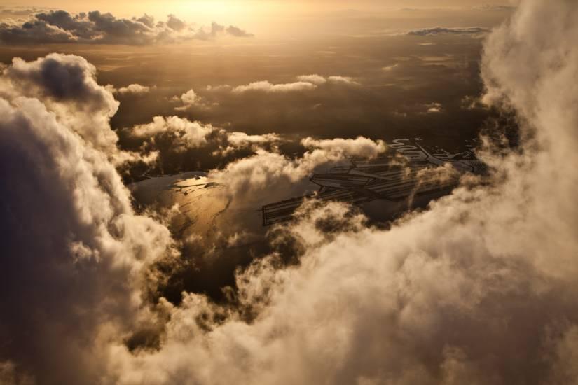 Photo Bassin d'Arcachon : Bassin d'Arcachon - Vu d'en haut #52