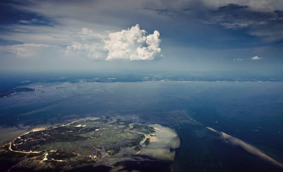 Photo Bassin d'Arcachon : Bassin d'Arcachon - Vu d'en haut #55