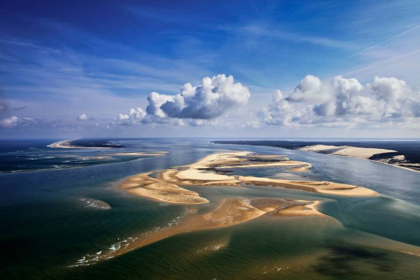 Photo Bassin d'Arcachon : Bassin d'Arcachon - Vu d'en haut #64