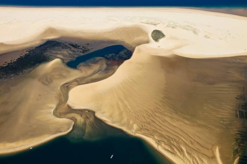 Photo Bassin d'Arcachon : Bassin d'Arcachon - Vu d'en haut #66