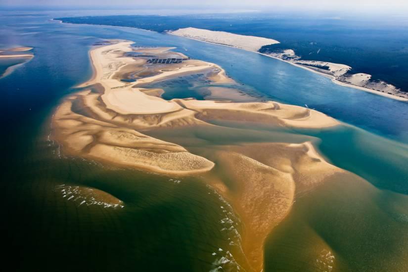 Photo Bassin d'Arcachon : Bassin d'Arcachon - Vu d'en haut #68