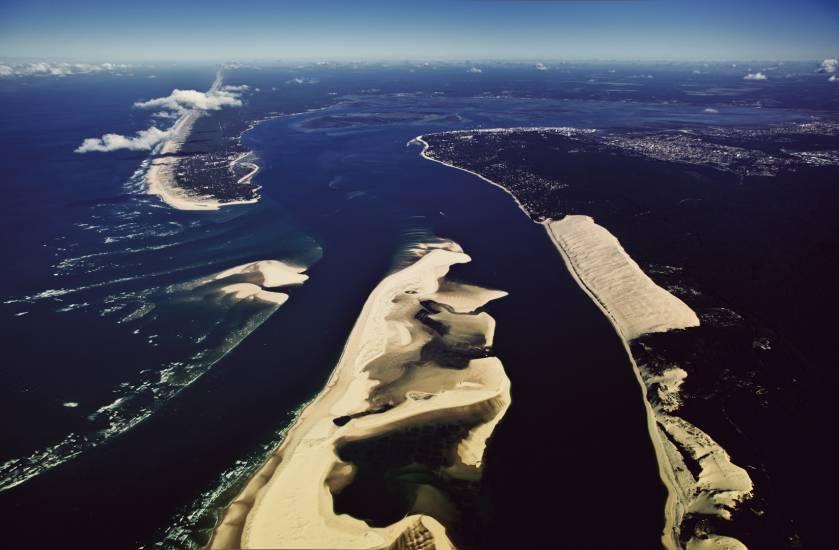 Photo Bassin d'Arcachon : Bassin d'Arcachon - Vu d'en haut #70