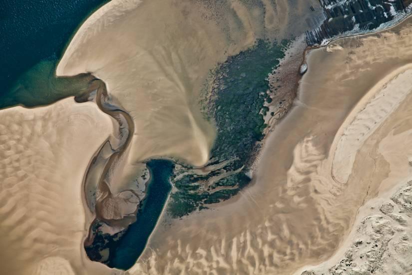 Photo Bassin d'Arcachon : Bassin d'Arcachon - Vu d'en haut #71