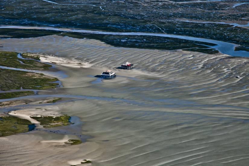 Photo Bassin d'Arcachon : Bassin d'Arcachon - Vu d'en haut #72