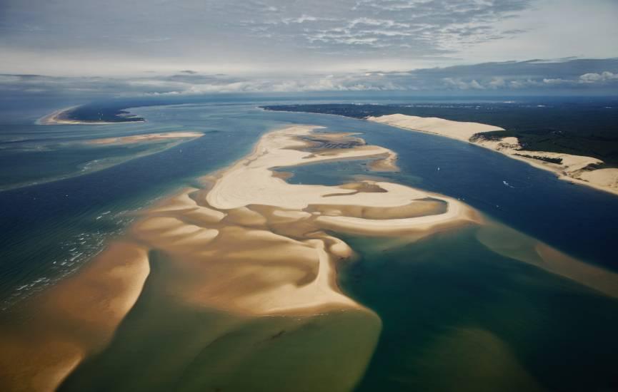 Photo Bassin d'Arcachon : Bassin d'Arcachon - Vu d'en haut #74