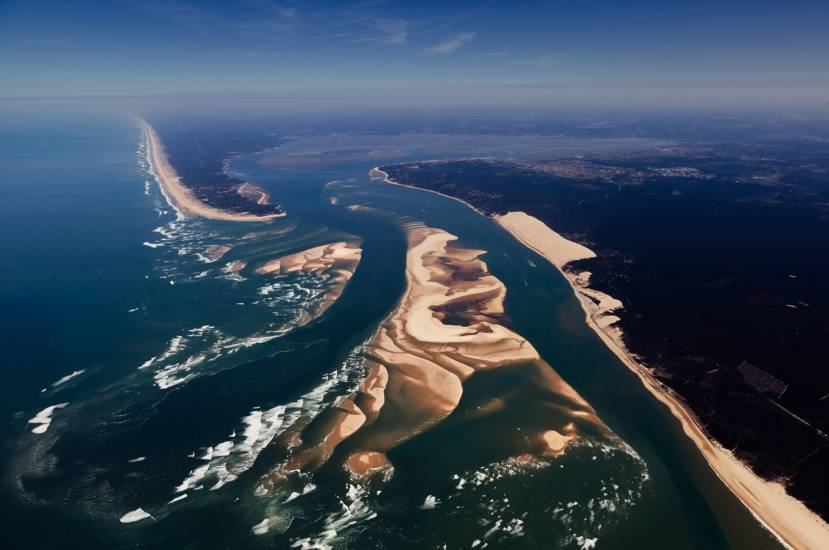 Photo Bassin d'Arcachon : Bassin d'Arcachon - Vu d'en haut #76