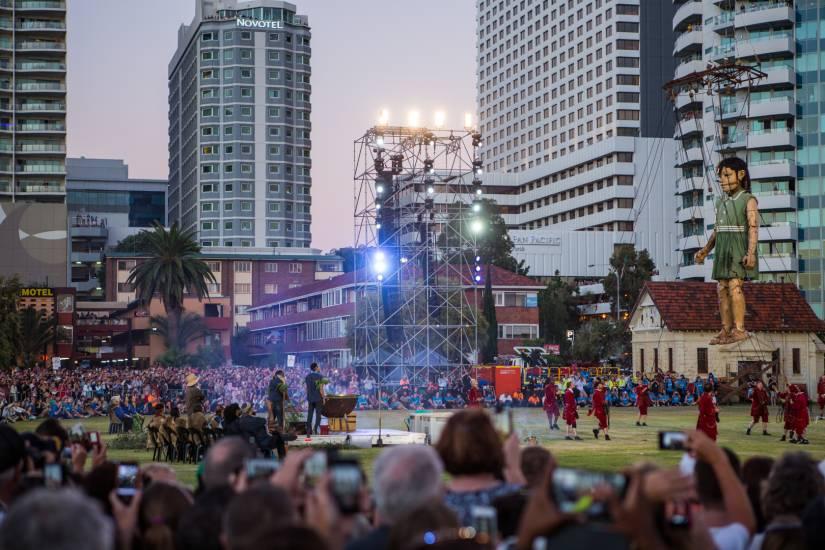 Photo Évènements : Évènements - The Giants - Perth #3