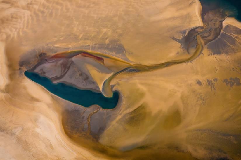 Photo Bassin d'Arcachon : Vu d'en haut #79