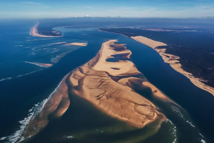 Photo Bassin d'Arcachon : Vu d'en haut #81