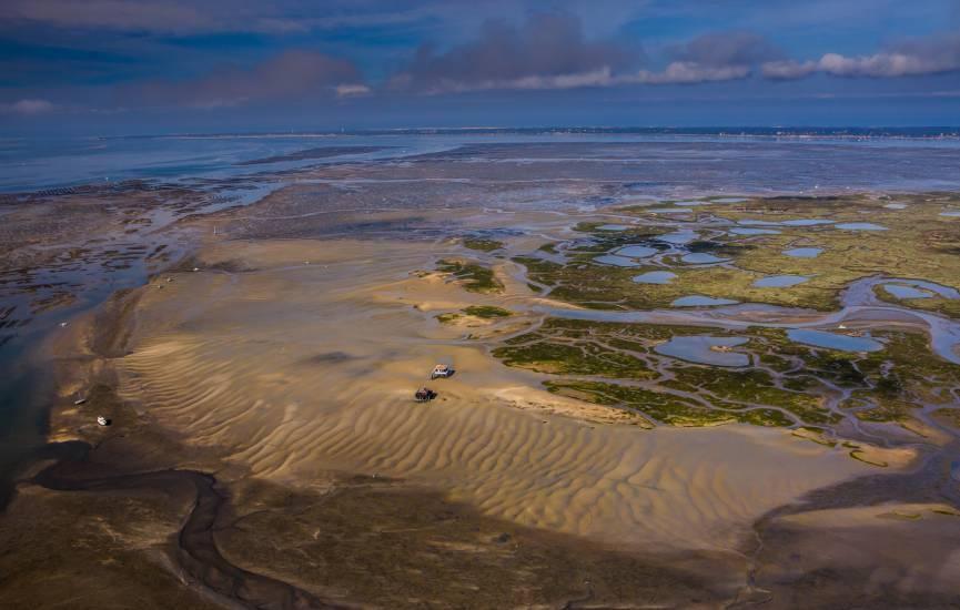 Photo Bassin d'Arcachon : Vu d'en haut #87