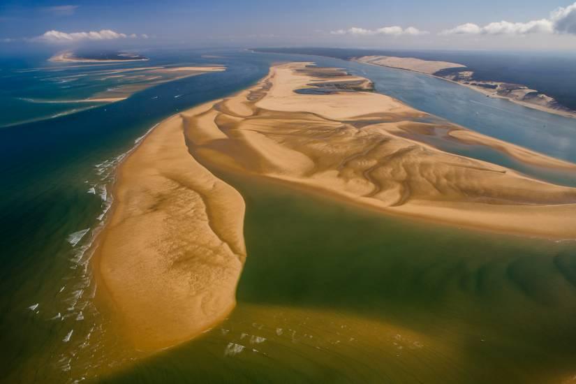 Photo Bassin d'Arcachon : Vu d'en haut #88
