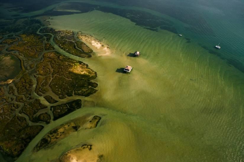 Photo Bassin d'Arcachon : Bassin d'Arcachon - Vu d'en haut #93