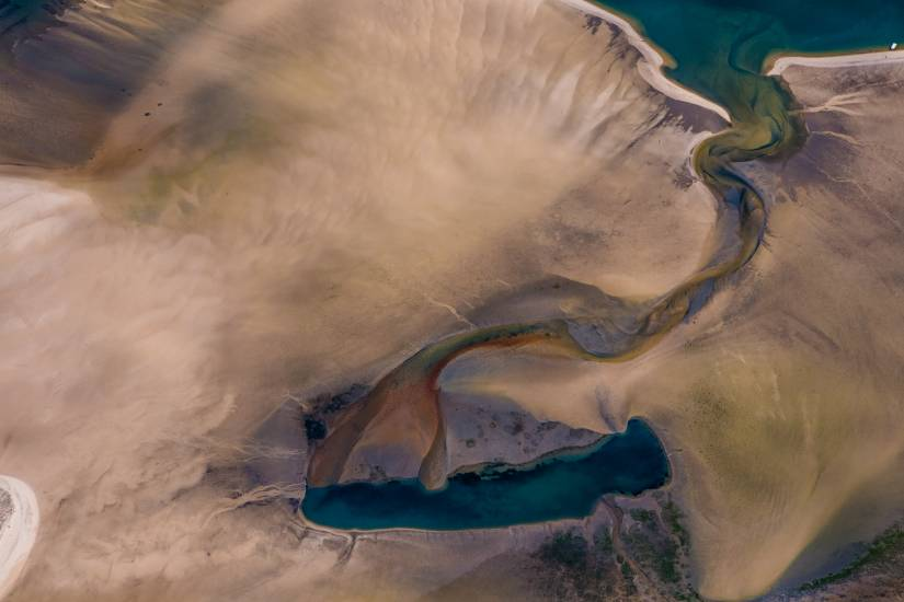 Photo Bassin d'Arcachon : Vu d'en haut #94