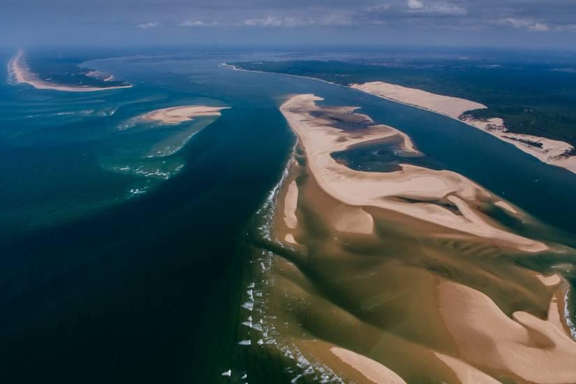 Photo Bassin d'Arcachon : Vu d'en haut #95