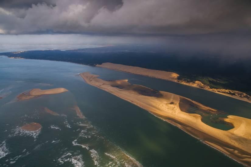Photo Bassin d'Arcachon : Vu d'en haut #97