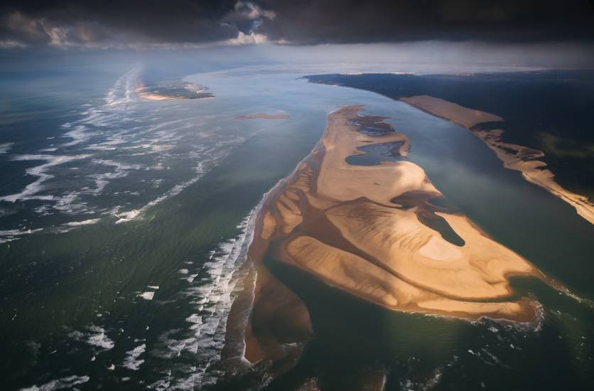 Photo Bassin d'Arcachon : Vu d'en haut #98