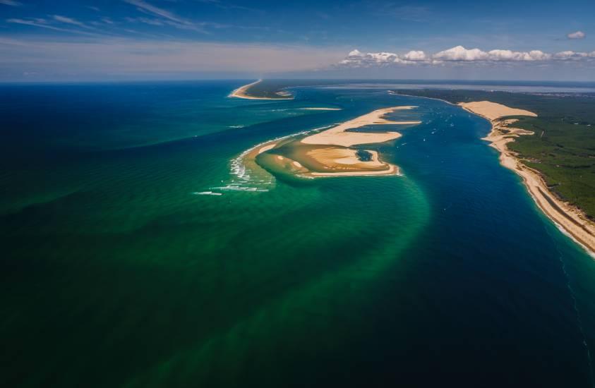 Photo Bassin d'Arcachon : Vu d'en haut #99