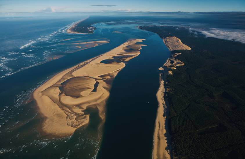 Photo Bassin d'Arcachon : Vu d'en haut #101