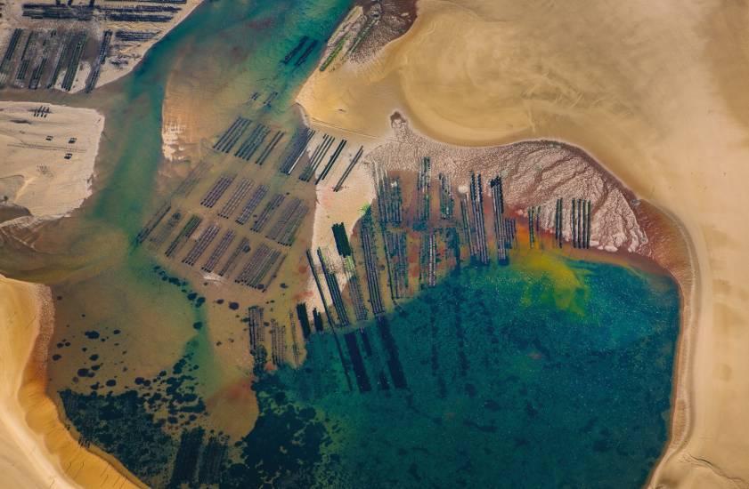 Photo Bassin d'Arcachon : Vu d'en haut #104