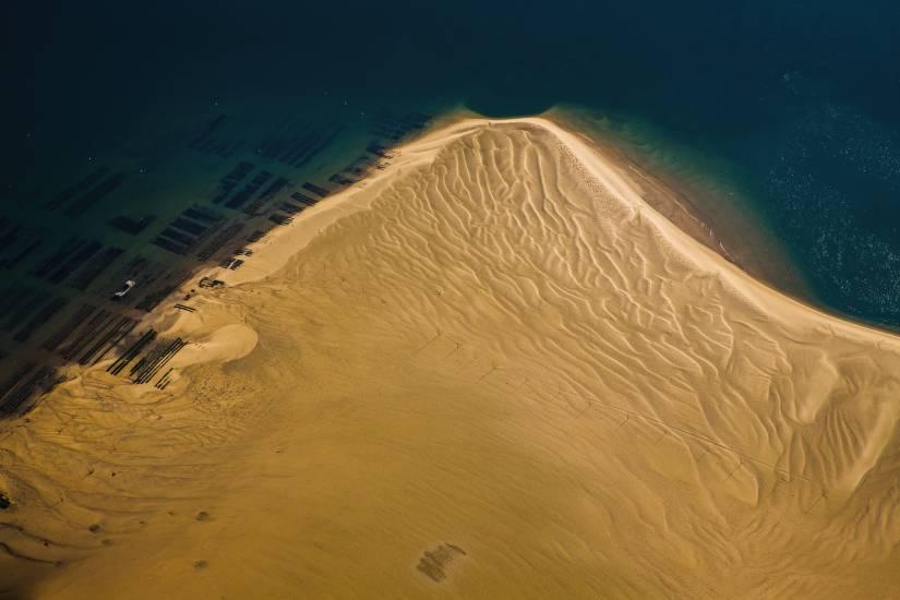 Photo Bassin d'Arcachon : Vu d'en haut #106
