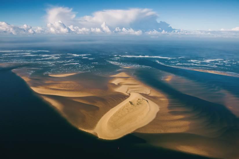 Photo Bassin d'Arcachon : Vu d'en haut #107