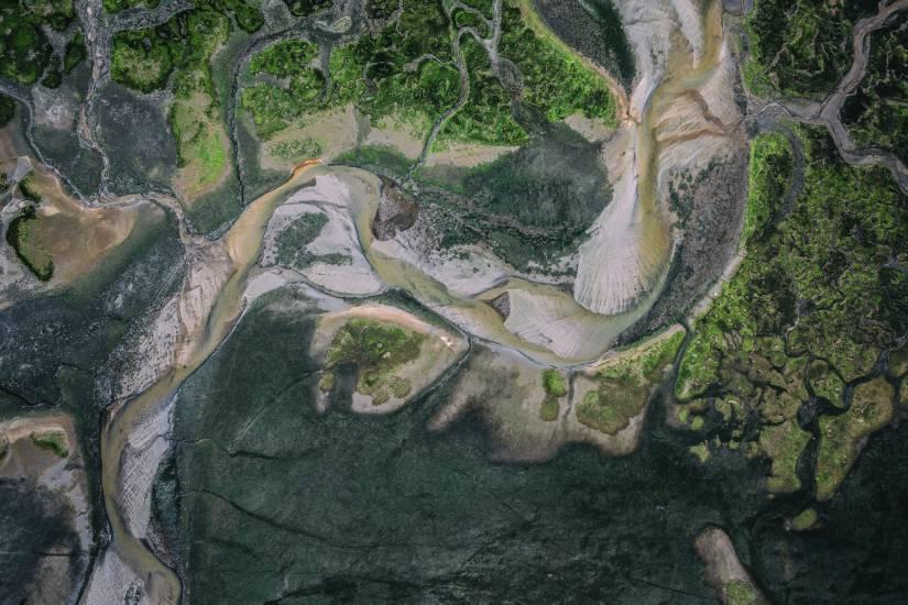 Photo Bassin d'Arcachon : Vu d'en haut #112