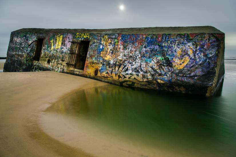 Photo Bassin d'Arcachon : Vu d'en bas #71