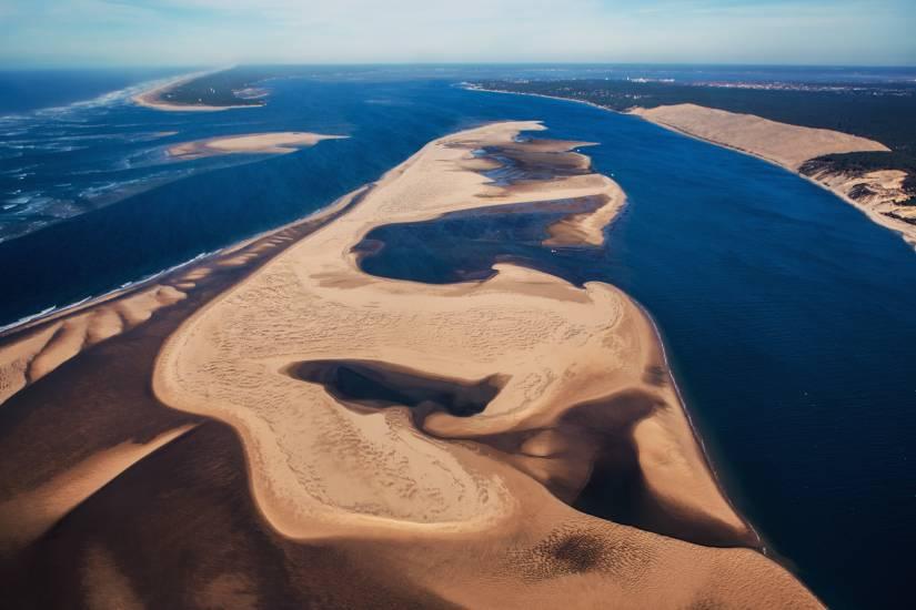 Photo Bassin d'Arcachon : Bassin d'Arcachon - Vu d'en haut #15